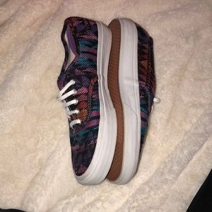 9cce1c43a7 Vans Shoes - Vans Era Inca Black   Pink Tribal Print